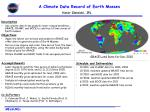 A Climate Data Record of Earth Masses