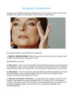 Anti-ageing: The Hebe effect