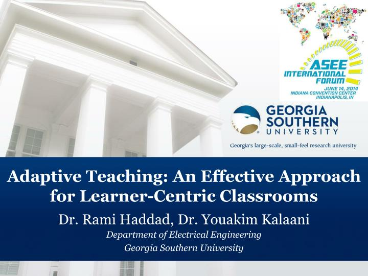 adaptive teaching an effective approach for learner centric classrooms n.