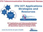 ITU Telecommunication Development Bureau