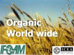 Organic World wide