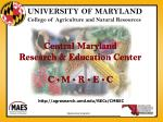 Central Maryland Research & Education Center C  M  R  E  C