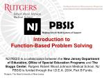 Introduction to Function-Based Problem Solving