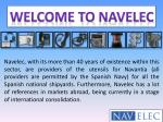 NAVELEC- Military Product supplier