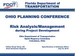 OHIO PLANNING CONFERENCE