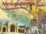 Geography of Mesopotamia