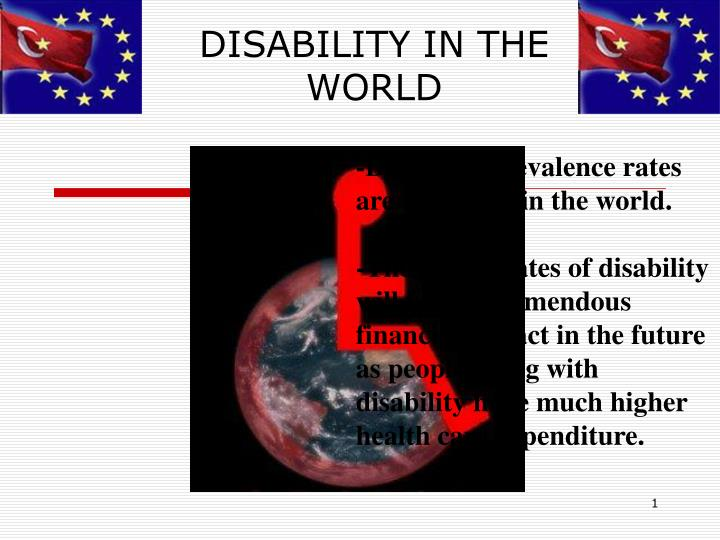 disability in the world n.