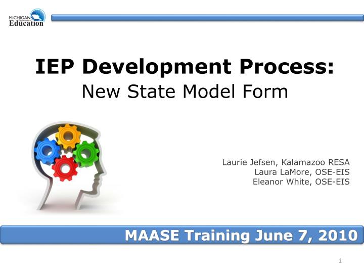 iep development process new state model form n.