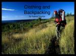 Clothing and Backpacking