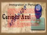 Immigration in Portugal