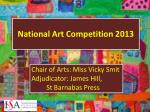 National Art Competition 2013