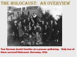 The Holocaust: An OVERVIEW