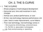 CH. 2, THE S-CURVE