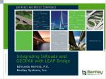 Integrating InRoads and GEOPAK with LEAP Bridge