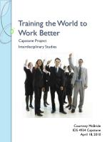 Training the World to Work Better