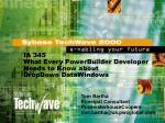 IA 345 What Every PowerBuilder Developer Needs to Know about DropDown DataWindows