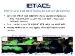 International Best Track Archive for Climate Stewardship
