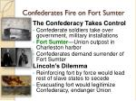 Confederates Fire on Fort Sumter