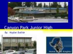 Canyon Park Junior High