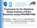 Framework for the Statistical Shape Analysis of Brain Structures using SPHARM-PDM