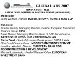 GLOBAL ABS 2007