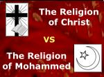 The Religion of Christ