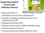 Supporting student success with Pathways Awarua