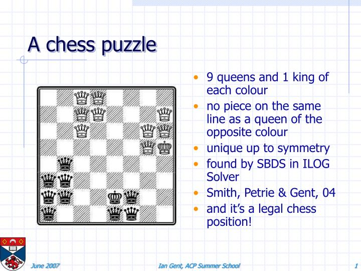a chess puzzle n.