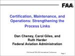 19th Annual FAA/JAA International Conference Phoenix, Arizona June 5, 2002