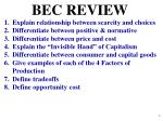 BEC REVIEW