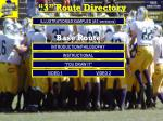 """3"" Route Directory"
