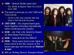 1984 – Geezer Butler goes solo Dio , Butler & Appice rejoin for a short time 1990