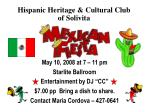 Hispanic Heritage & Cultural Club of Solivita