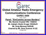 "Ham Radio Methods and Tool Kit for  ""Emergency Communications Across Borders"""