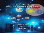 Nilmani Mathur Department of Theoretical Physics,  TIFR, INDIA