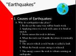 """Earthquakes"""