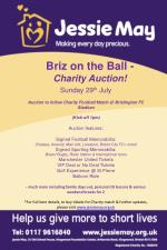 Briz on the Ball - Charity Auction!