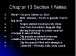 Chapter 13 Section 1 Notes