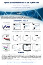 Optical characterization of As-Se-Ag thin films