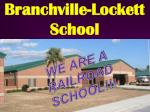 Branchville-Lockett School