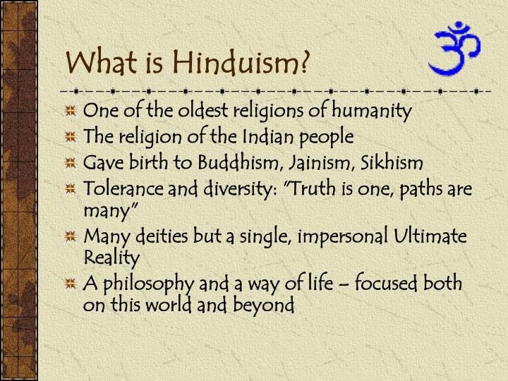 what is hinduism n.