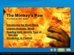 The Monkey's Paw Short Story by W.W. Jacobs
