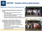 SWFDP – Eastern Africa (pilot phase)