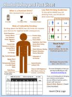 Alcohol Safety and Fact Sheet
