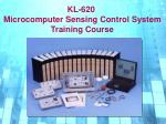 KL-620 Microcomputer Sensing Control System Training Course