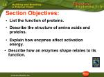 6.3 Section Objectives – page 157