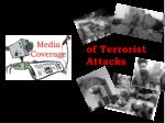 of Terrorist Attacks