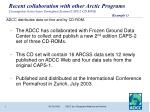 ADCC distributes data on-line and by CD-ROM.