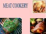 MEAT COOKERY