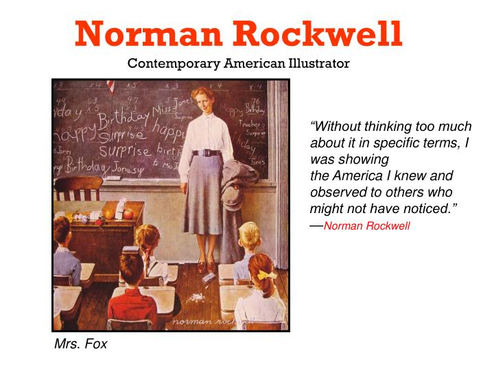 norman rockwell contemporary american illustrator n.